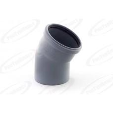Отвод канализационный Дн110х15 гр.