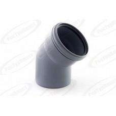 Отвод канализационный Дн110х45 гр.