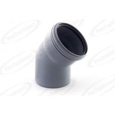 Отвод канализационный Дн110х67 гр.