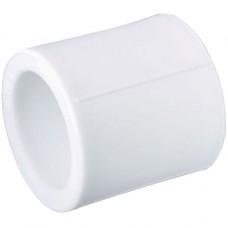 Муфта полипропиленовая белая,  Дн 75