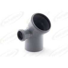 Отвод канализационный Дн110/50х45 гр. левый