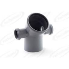 Отвод канализационный Дн110/50/50х45 гр. левый/правый