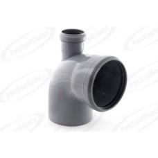 Отвод канализационный Дн110/50х87 гр. выход вверх