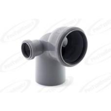 Отвод канализационный Дн110/50/50х87 гр. левый/правый